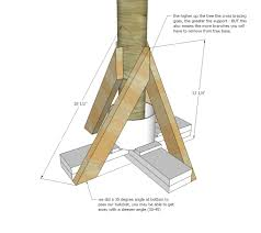 white heavy duty tree stand diy projects