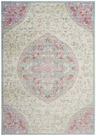 Pink Grey Rug Gray Silver Platinum Charcoal Rugs Safavieh Rug Collection
