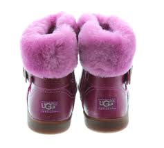 ugg jemma sale ugg toddlers gemma buckle boots in pink in pink