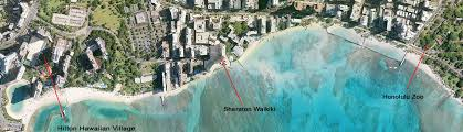map of waikiki waikiki map with hotels and condos from 75 808 394 2112