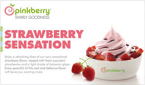 this pinkberry ad goes with the ice cream ad frozen yogurt and