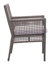 Outdoor Modern Dining Chair Coronado Dining Chair Set Of 2 By Zuo Modern Modern Dining