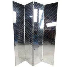 Quatrefoil Room Divider Vintage U0026 Used Silver Screens And Room Dividers Chairish