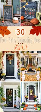 30 creepy and pretty front entry decorating ideas for fall