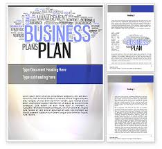 9 best images of business plan template word free business plan