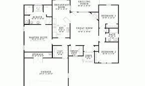 split bedroom floor plans ranch floor plans with split bedrooms ideas house plans 66949