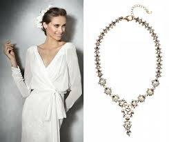 wedding dress necklace statement necklaces for weddings