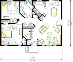 2 bedroom cottage floor plans 2 bedroom cottage house plan 2182dr architectural designs