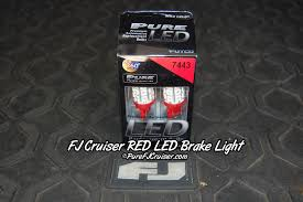 Led Tail Light Bulbs For Trucks by Fj Cruiser Led Lighting From Pure Auto Parts