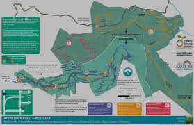 alum creek cground map san jose ca official website alum rock park
