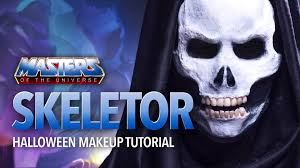 Skeletor Halloween Costume Skeleton 3d Skull Halloween Makeup Tutorial