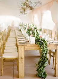 Leaf Table Runner Green Leaf Table Runner 40 Stunning Lush Greenery Wedding Table