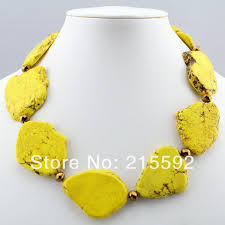 yellow turquoise necklace images Buy graceful pearl coral jewelry set bead jpg
