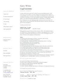 Legal Secretary Duties Resume Professional Sample Legal Secretary Resume U2013 Topshoppingnetwork Com