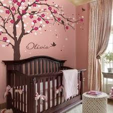 cherry blossom tree decal elegant style nursery cherry blossom tree decal