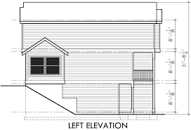 Duplex House Plans For Narrow Lots Narrow Lot Townhouse Plans Duplex House Plans 3 Level D 519
