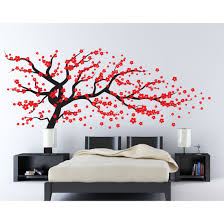 cherry blossom tree wall stickers all about wall decal source cherry blossom tree reviews wayfair