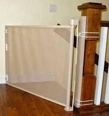 Baby Proofing Banisters The Retractable Safety Gate Or Baby Gate Can Even Be Installed On