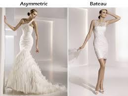 shoulder and bateau neck wedding dresses by pronovias