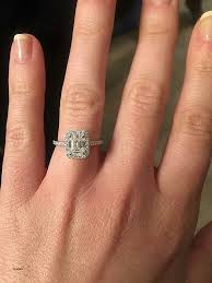 radiant cut engagement ring engagement ring luxury radiant cut engagement rings 2 carat