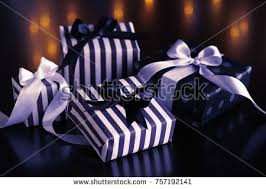 boxes with bows gift boxes bows christmas holidays on stock photo 757192141