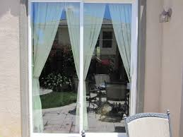 Patio Door Window Panels Sliding Glass Door Window Treatments
