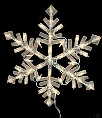 Lighted Snowflakes Outdoor by 16