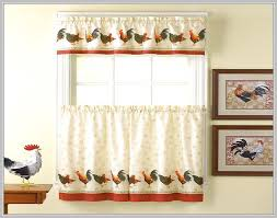 country kitchen curtain ideas gorgeous rooster kitchen curtains ideas 78 best images about