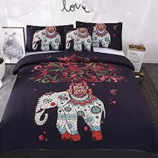 Exotic Comforter Sets Amazon Com Magichome 3 Pcs Duvet Cover With 2 Pillow Shams