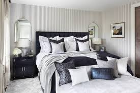Beach Style Master Bedroom Bedroom Mirrored Nightstand In Bedroom Bedroom Traditional With