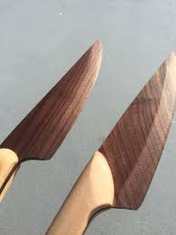 made kitchen knives wooden chef knife 8 steps with pictures