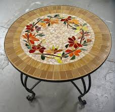 Mosaic Patio Table Top by Best 25 Iron Furniture Ideas On Pinterest Painted Outdoor