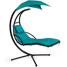 Chase Lounge Chairs Amazon Com Xtremepowerus Floating Swing Chaise Lounge Chair