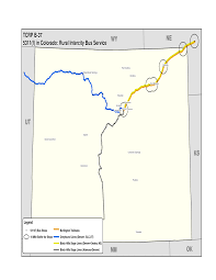 Greeley Colorado Map by Appendix C Gis Maps Of Rural Intercity Bus Routes Toolkit For