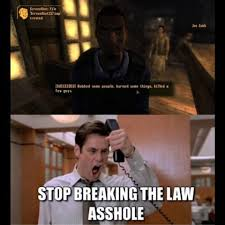 Stop Breaking The Law Meme - thatruskie games erryday instagram photos and videos