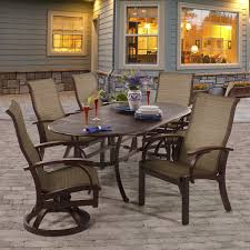 Sling Patio Dining Set - 7 patio furniture costco
