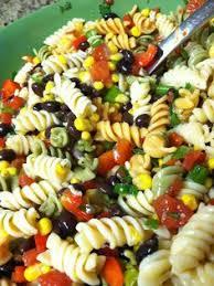 cold pasta dish black bean corn pasta salad recipe i love cold salads for