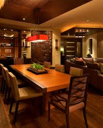 apartments divine zen inspired interior design dining room