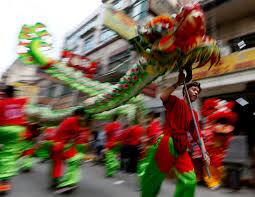 New Years Eve Traditions Fireworks And Dragon Dances Usher In Year Of The Monkey Al Jazeera