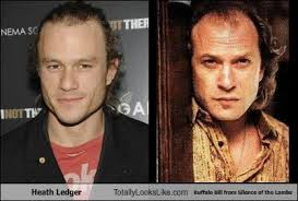 Silence Of The Lambs Meme - heath ledger totally looks like buffalo bill from silence of the