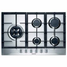 Prestige Cooktop 4 Burner Glem 75cm 5 Burner Gas Cooktop U2013 Prestige Appliances