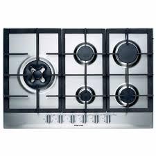 Prestige Cooktop 4 Burner Glem 75cm 5 Burner Gas Cooktop U2013 Prestige Appliances