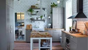 cuisine avec carrelage metro déco cuisine cagne côté maison