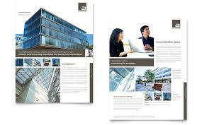 architecture brochure templates free architect datasheet template word publisher