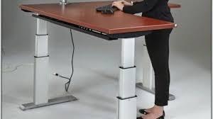 standing computer desk amazon adjustable standing desk amazon height throughout plans 2