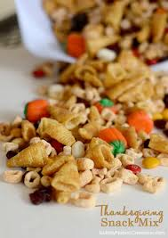 thanksgiving snack mix sprinkle some