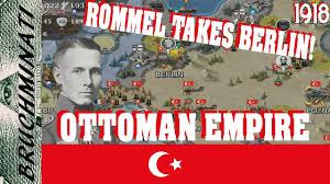 Ottoman Germany European War 4 Wwi Mod 1918 Ottoman Empire 2 Ottomans In