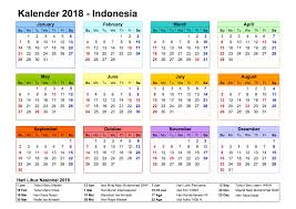 Kalender 2018 Hamburg Feiertage Kalender 2018 Indonesia Ferien Feiertage Excel Pdf Vorlagen