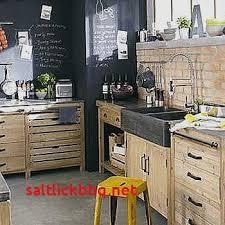 meuble cuisine bois recyclé meuble cuisine bois et zinc pour idees de deco de cuisine