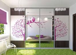 bedroom modern two flat violet decoration interior design miami